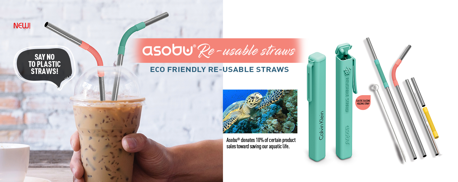 Asobu Reusable Straws
