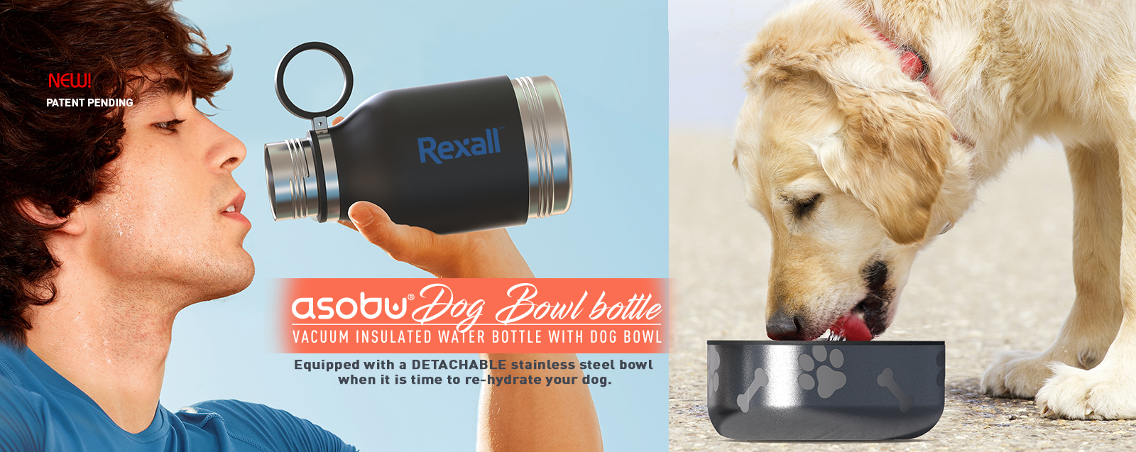 Asobu Dog Water Bottle